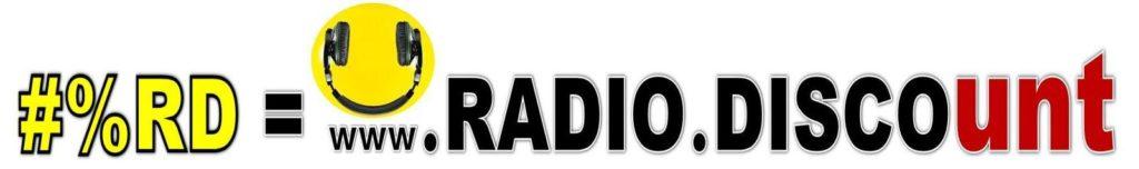 #%RD RADIO DISCOunt LOGO CON SMILE BASSO